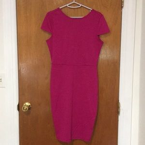Pink dress, forever 21 size M